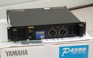 pro audio blowouts product view p4500 power amplifier. Black Bedroom Furniture Sets. Home Design Ideas